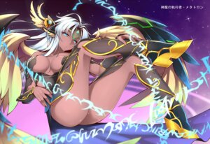 Rating: Questionable Score: 56 Tags: armor cleavage dean heels metatron puzzle_&_dragons underboob wings User: Mr_GT