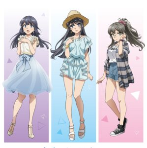 Rating: Safe Score: 50 Tags: breast_hold futaba_rio heels jpeg_artifacts makinohara_shouko megane sakurajima_mai see_through seishun_buta_yarou_series tagme User: Saturn_V