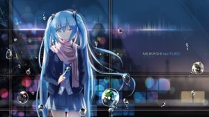 Rating: Safe Score: 70 Tags: hatsune_miku headphones kuroi_asahi seifuku vocaloid User: Humanpinka