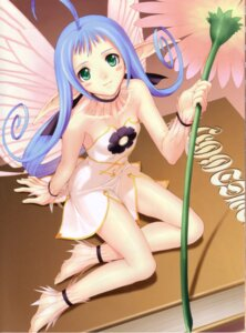Rating: Safe Score: 31 Tags: fairy maple_(shining_tears) shining_tears shining_world tony_taka wings User: petopeto