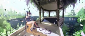Rating: Safe Score: 10 Tags: asian_clothes cleavage fate/grand_order horns landscape yamijam yang_guifei_(fate/grand_order) User: BattlequeenYume