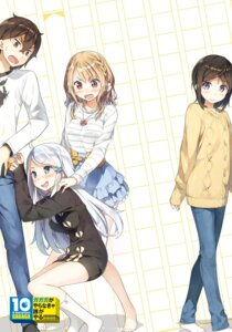 Rating: Safe Score: 42 Tags: imouto_sae_ireba_ii. kantoku sweater undressing User: kiyoe