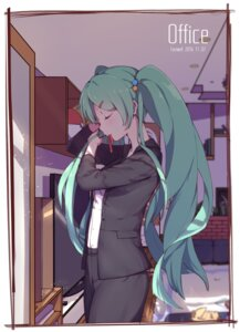 Rating: Safe Score: 43 Tags: business_suit hatsune_miku vocaloid zhayin-san User: charunetra