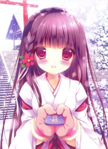 Rating: Safe Score: 50 Tags: miko shiratama User: fireattack