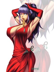 Rating: Safe Score: 15 Tags: cleavage dress erect_nipples hinata naruto no_bra yi_qiang User: animesekai