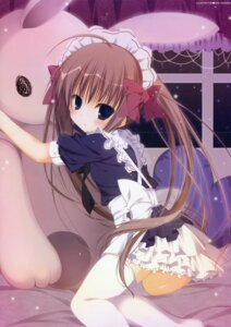 Rating: Safe Score: 42 Tags: crease inugami_kira maid thighhighs User: fireattack