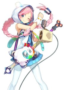 Rating: Safe Score: 35 Tags: guitar pantyhose rana_(vocaloid) shindou_kamichi vocaloid User: Mr_GT