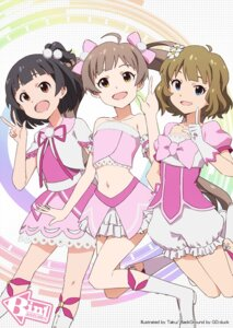 Rating: Safe Score: 25 Tags: hakozaki_serika nakatani_iku suou_momoko taku the_idolm@ster the_idolm@ster_million_live User: Radioactive