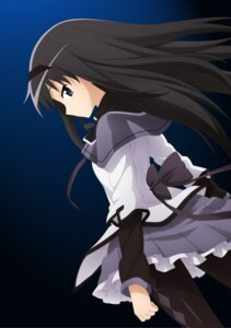 Rating: Safe Score: 24 Tags: akemi_homura pantyhose puella_magi_madoka_magica wave_ride User: Lord_Satorious
