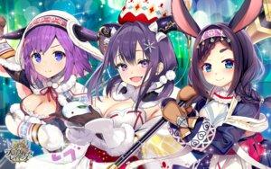 Rating: Questionable Score: 14 Tags: animal_ears brave_girl_ravens bunny_ears cleavage horns matatabi_maru tetsubuta tsukimiya_sei wallpaper weapon User: zyll