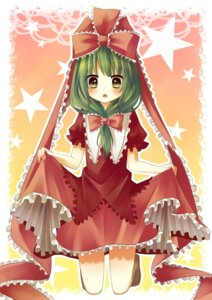 Rating: Safe Score: 19 Tags: amene_kurumi kagiyama_hina touhou User: Radioactive