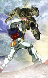 Rating: Safe Score: 9 Tags: gundam mecha mobile_suit_gundam rx-78-2_gundam User: Radioactive