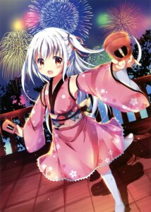 Rating: Safe Score: 38 Tags: hinata_yuu_(artist) yukata User: Twinsenzw