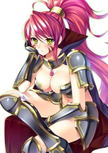 Rating: Questionable Score: 64 Tags: armor bucchake cleavage heels oda_nobunaga oda_nobunaga_(sengoku_otome) sengoku_otome thighhighs User: fairyren