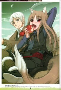 Rating: Safe Score: 15 Tags: animal_ears craft_lawrence holo koume_keito spice_and_wolf tail User: Eruru