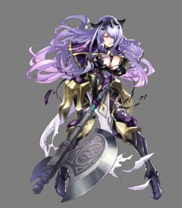 Rating: Questionable Score: 29 Tags: armor camilla cleavage fire_emblem fire_emblem_heroes fire_emblem_if heels maeshima_shigeki nintendo pantsu torn_clothes transparent_png weapon User: charunetra