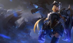 Rating: Questionable Score: 5 Tags: armor league_of_legends tagme thighhighs weapon User: Radioactive