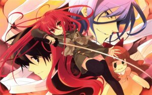 Rating: Safe Score: 15 Tags: friagne ito_noizi marianne sakai_yuuji scanning_resolution screening seifuku shakugan_no_shana shana sword thighhighs User: 月无名