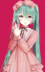 Rating: Safe Score: 3 Tags: dress hatsune_miku karou_(lhscck302) lolita_fashion vocaloid User: leotard