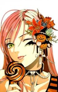 Rating: Safe Score: 17 Tags: akashiya_moka nazo_koumori rosario_+_vampire User: yumichi-sama