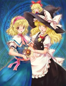 Rating: Safe Score: 8 Tags: alice_margatroid kirisame_marisa michii_yuuki shanghai touhou User: konstargirl