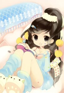 Rating: Questionable Score: 40 Tags: bra cleavage loli pajama pantsu putidevil see_through User: SubaruSumeragi