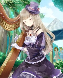 Rating: Safe Score: 24 Tags: dress gothic_lolita lolita_fashion school_fanfare User: saemonnokami