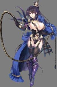 Rating: Questionable Score: 64 Tags: armor fishnets highschool_dxd himejima_akeno leotard miyama-zero no_bra stockings thighhighs transparent_png weapon User: kiyoe