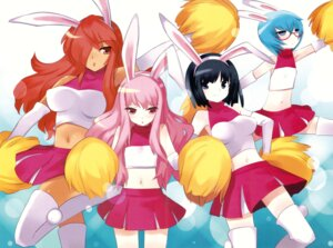 Rating: Safe Score: 17 Tags: animal_ears bunny_ears cheerleader fixme kirche louise siesta tabitha usatsuka_eiji zero_no_tsukaima User: Radioactive