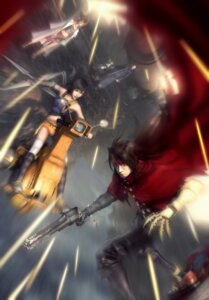 Rating: Safe Score: 10 Tags: cait_sith cg dirge_of_cerberus final_fantasy final_fantasy_vii reeve_tuesti shalua_rui vincent_valentine yuffie_kisaragi User: Radioactive