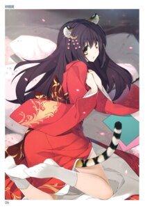 Rating: Safe Score: 40 Tags: akisoba animal_ears feet kimono tail toranoana User: abcdefh