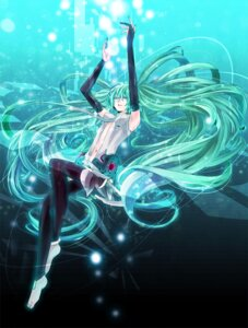 Rating: Safe Score: 11 Tags: hatsune_miku ichi_kotoko miku_append thighhighs vocaloid vocaloid_append User: Radioactive