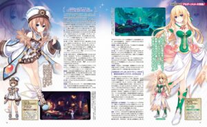 Rating: Safe Score: 10 Tags: blanc choujigen_game_neptune cleavage dress heels tsunako vert User: Nepcoheart