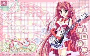Rating: Safe Score: 18 Tags: christmas guitar hinata_mutsuki natsume_otona skyfish wallpaper yotsuiro_passionato! User: jack09335