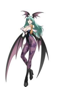 Rating: Safe Score: 74 Tags: cleavage cross_edge dark_stalkers leotard morrigan_aensland nakamura_tatsunori pantyhose wings User: Radioactive