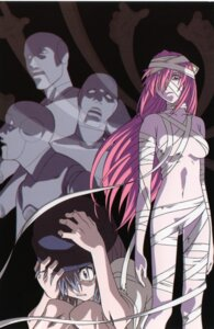 Rating: Questionable Score: 9 Tags: bandages elfen_lied lucy naked User: Radioactive
