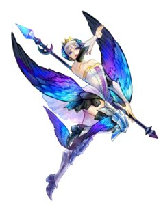 Rating: Safe Score: 15 Tags: dress gwendolyn nopan odin_sphere tayuya1130 thighhighs wings User: charunetra