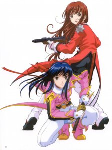 Rating: Safe Score: 3 Tags: erica_fontaine sakura_taisen sakura_taisen_iii shinguuji_sakura User: Radioactive