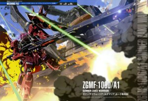 Rating: Safe Score: 9 Tags: gun gundam gundam_seed gundam_seed_destiny mecha shigeta_satoshi zaku_warrior User: drop