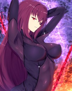 Rating: Questionable Score: 48 Tags: band-width bodysuit erect_nipples fate/grand_order scathach_(fate/grand_order) User: charunetra