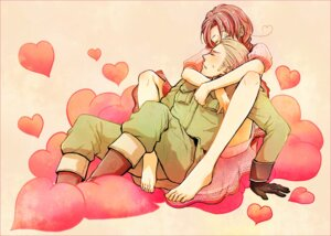 Rating: Safe Score: 8 Tags: germany hetalia_axis_powers kuma north_italy User: Radioactive