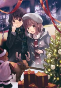 Rating: Safe Score: 50 Tags: christmas fukahire_sanba ruinon User: Twinsenzw