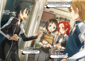 Rating: Safe Score: 13 Tags: abec eugeo kirito ronye_arabel sword_art_online sword_art_online_alicization tagme tieze_shtolienen uniform User: kiyoe