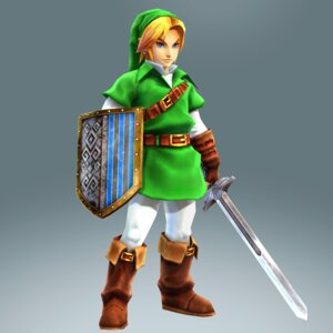 Rating: Safe Score: 6 Tags: cg hyrule_warriors koei_tecmo link male pointy_ears sword the_legend_of_zelda the_legend_of_zelda:_ocarina_of_time User: Yokaiou