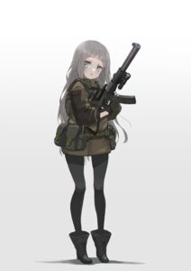 Rating: Safe Score: 12 Tags: gun oota_youjo pantyhose User: Dreista