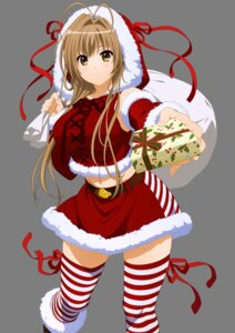 Rating: Safe Score: 60 Tags: amagi_brilliant_park christmas sento_isuzu thighhighs transparent_png vector_trace User: ManaAlchemist