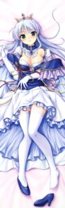 Rating: Safe Score: 114 Tags: august bekkankou cleavage dakimakura dress feena_fam_earthlight heels thighhighs yoake_mae_yori_ruriiro_na User: DDD
