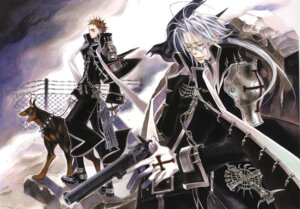 Rating: Safe Score: 4 Tags: abel_nightroad kyuujou_kiyo male tres_iqus trinity_blood User: Radioactive