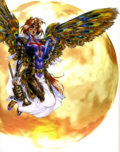 Rating: Safe Score: 8 Tags: shirow_masamune wings User: Wraith