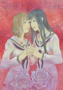 Rating: Safe Score: 4 Tags: bin seifuku yuri User: Radioactive